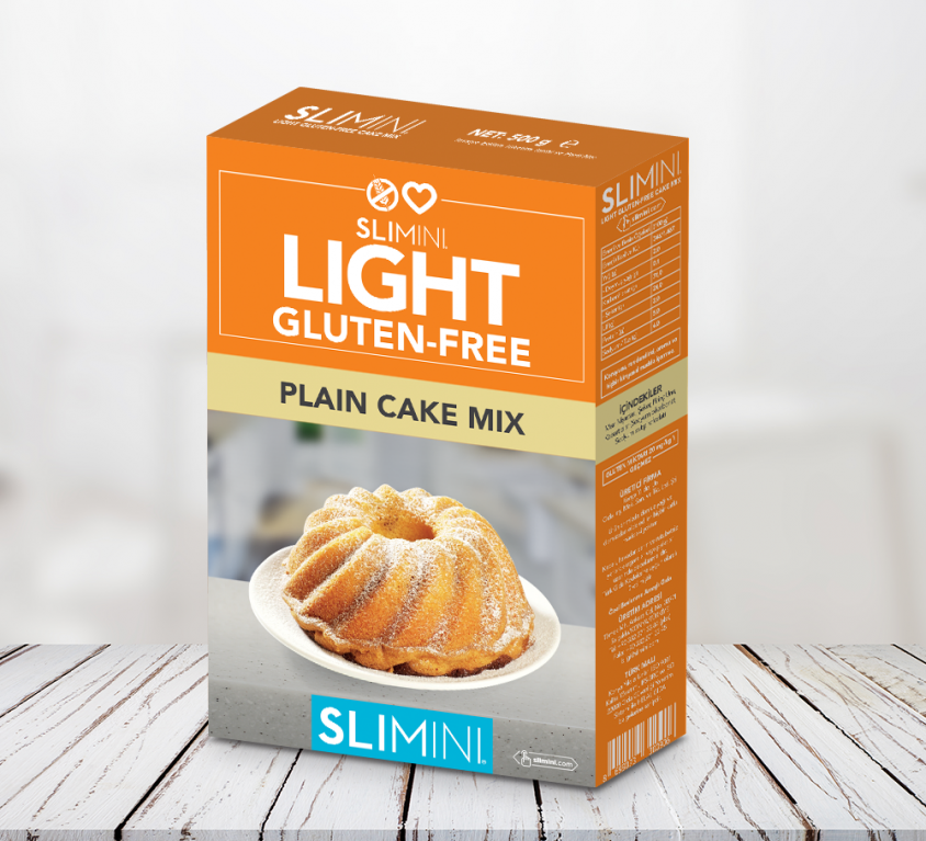 LIGHT GLUTEN FREE PLAIN CAKE MIX