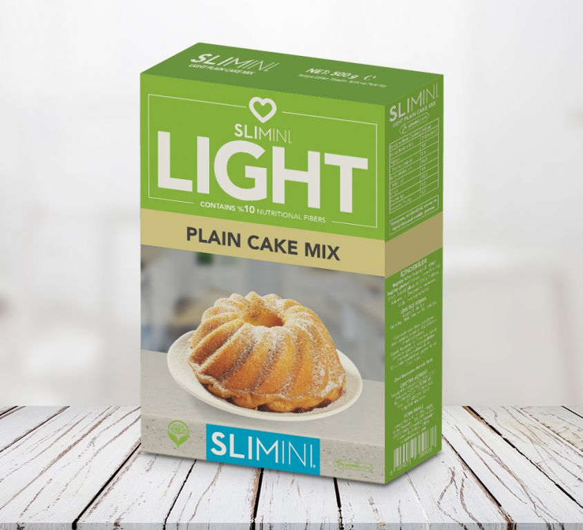 Light Plain Cake Mix
